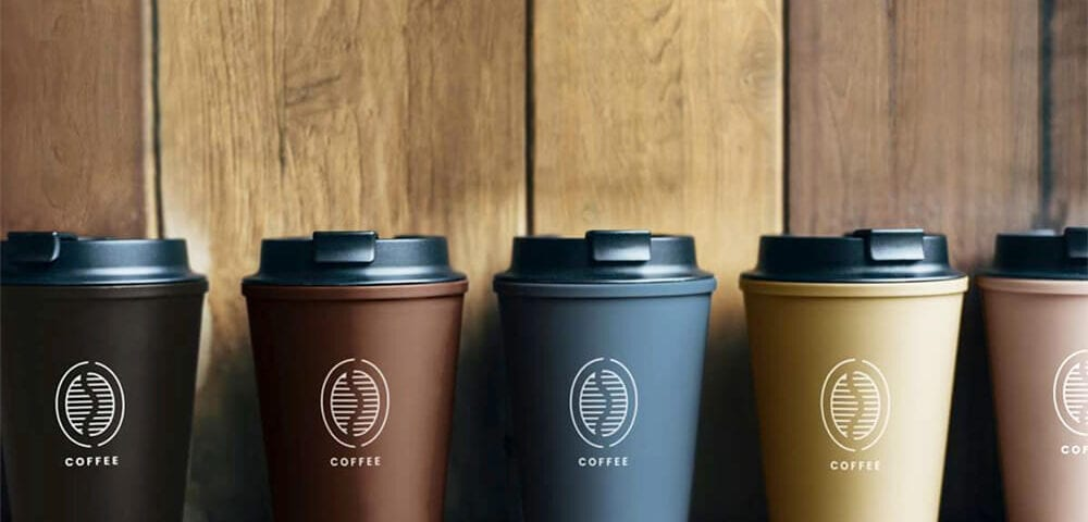 why branding coffee cups works